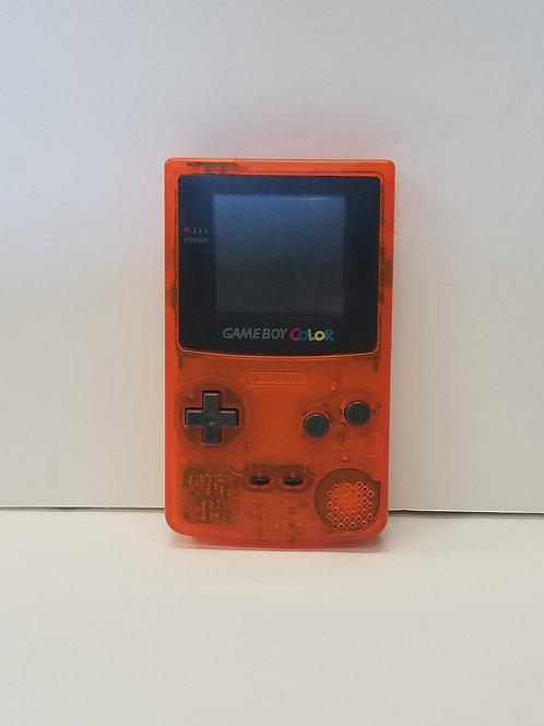 Nintendo Game Boy Color - Clear Orange
