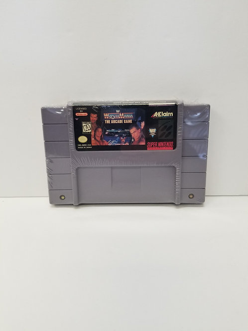Wrestle Mania The Arcade Game (CART ONLY)