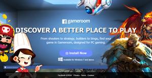 facebook gameroom screen