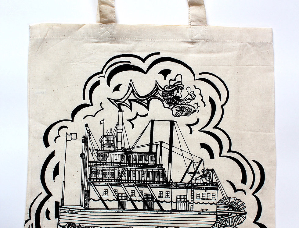 SS Klondike Gold Panner - Tote Bag