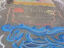 Chalk Art Festival, Whitehorse, YT