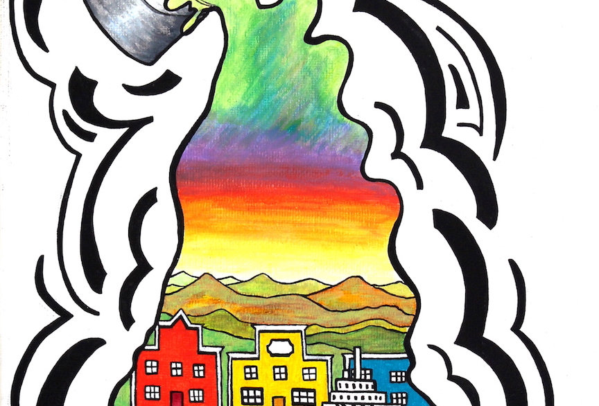 Colours of the Yukon - Art Print