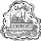 SS Klondike Gold Panner