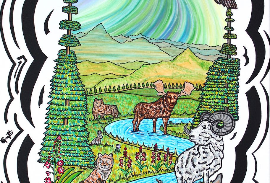 Yukon Scenery - Art Print