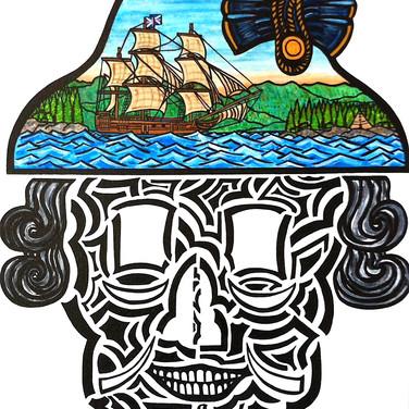 George Vancouver Skull