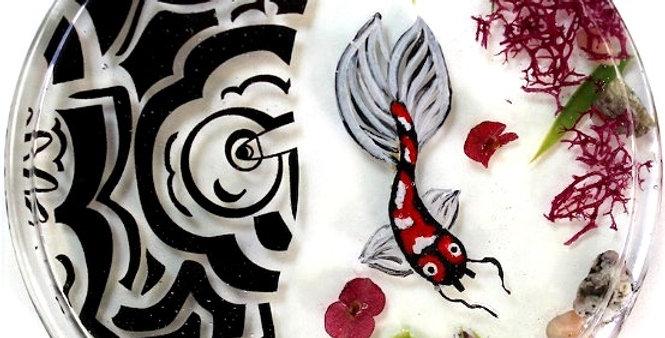 Handmade Pond Coaster
