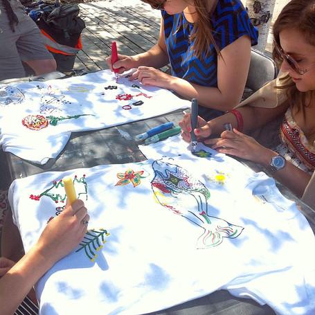 ARTS IN THE PARK WEEK 4, VISUAL ARTIST, WORKSHOP, WHITEHORSE, YT JUNE 13 - JUNE 17 2016