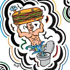 Toilet Muscle Man