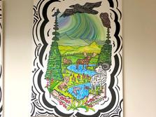Hospital Artwork, Whitehorse, YT