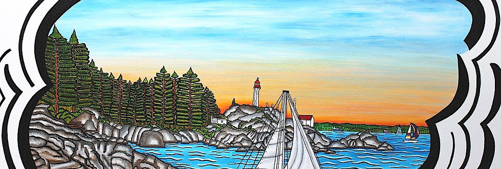 Lighthouse Park - Art Print
