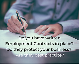 Employment Contract Checklist