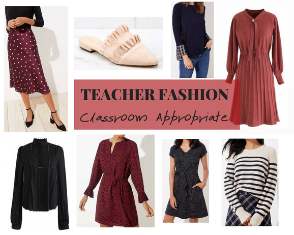 Classroom Appropriate Teacher Fashion Inspo