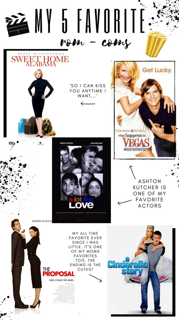 My 5 Favorite Rom - Coms
