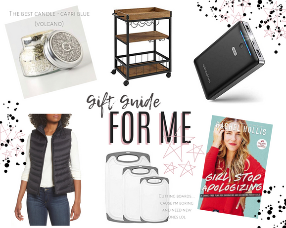 Gift Guide for Me 2019
