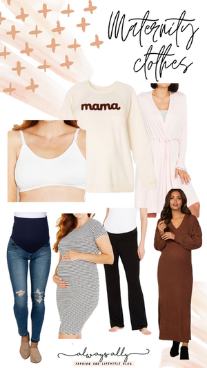 My First Order of Maternity Clothes