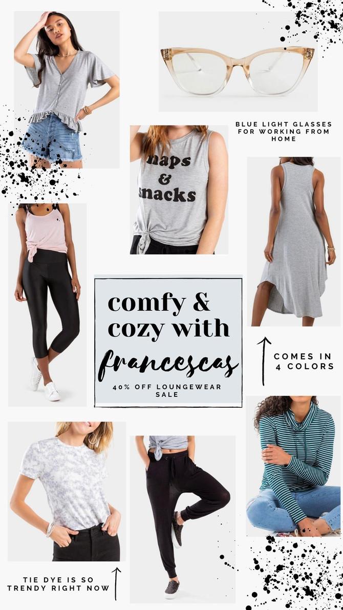 Francesca's 40% off Loungewear Sale