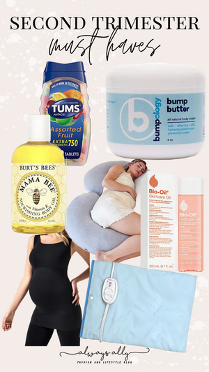 2nd Trimester Recap & Must Haves