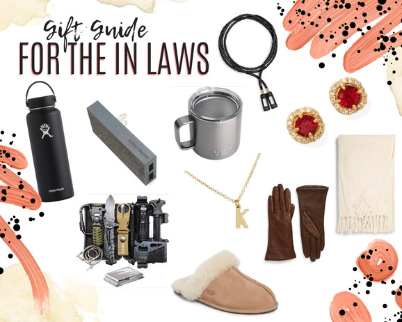 Gift Guide for the In Laws 2019