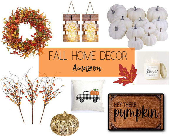 Rustic Fall Home Decor from Amazon