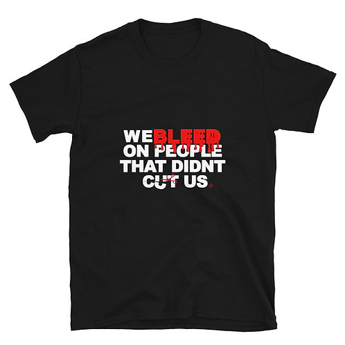 We Bleed T-Shirt black