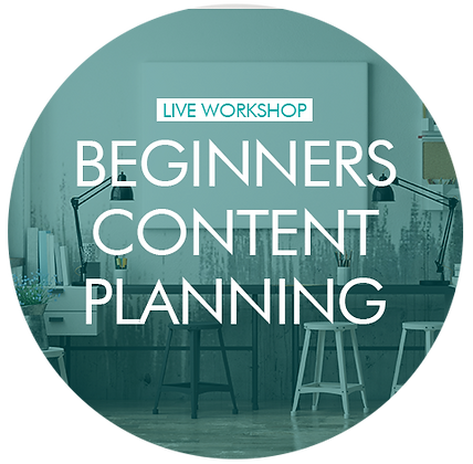 Content Planning (for beginners) - individual 1-2-1