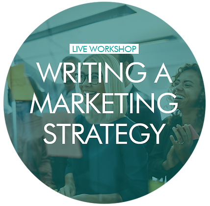 Writing a Marketing Strategy (for beginners) - individual 1-2-1