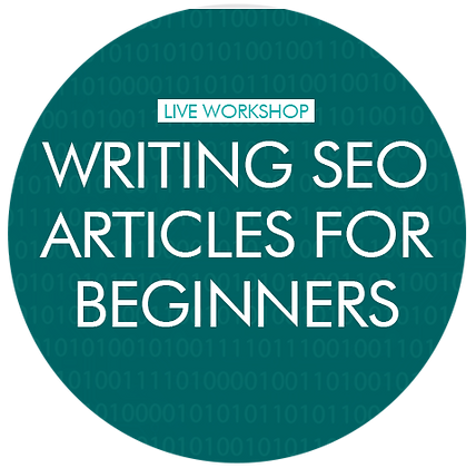 Writing SEO Articles (for beginners) - individual 1-2-1
