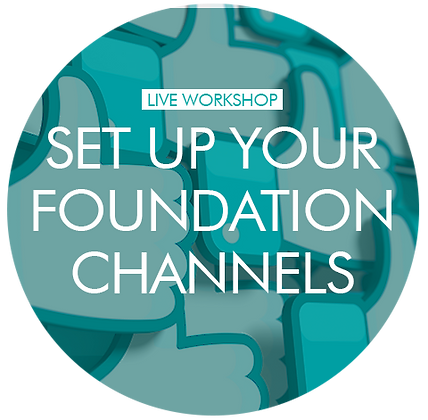Setting up Foundation Channels (for beginners) - individual 1-2-1