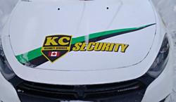 Front of Patrol Car
