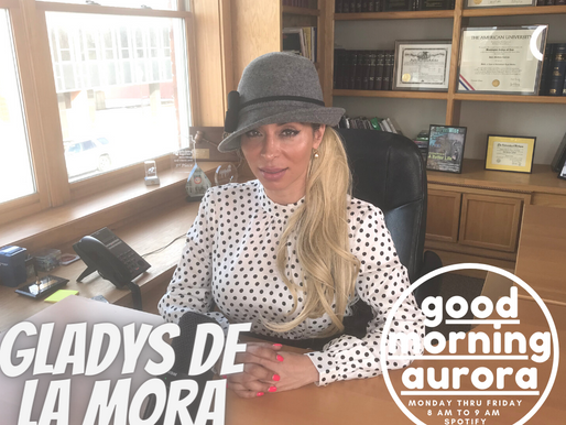 Tuesday | 2/2/2021 | Gladys De La Mora On Good Morning Aurora!