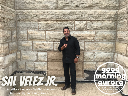 Tuesday | 7/20/2021 | Life, Family & The Big Screen: Sal Velez Jr. (Black Summer - Netflix) On GMA