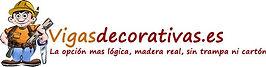 Logo de vigas decorativas carpintero