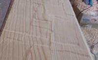 Un placer decorativo, vigas huecas de madera