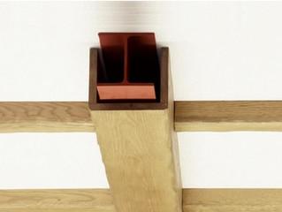 Las vigas de madera, elemento practico y decorativo
