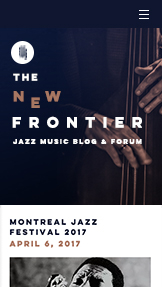 Arte e Cultura website templates – Blog de música jazz