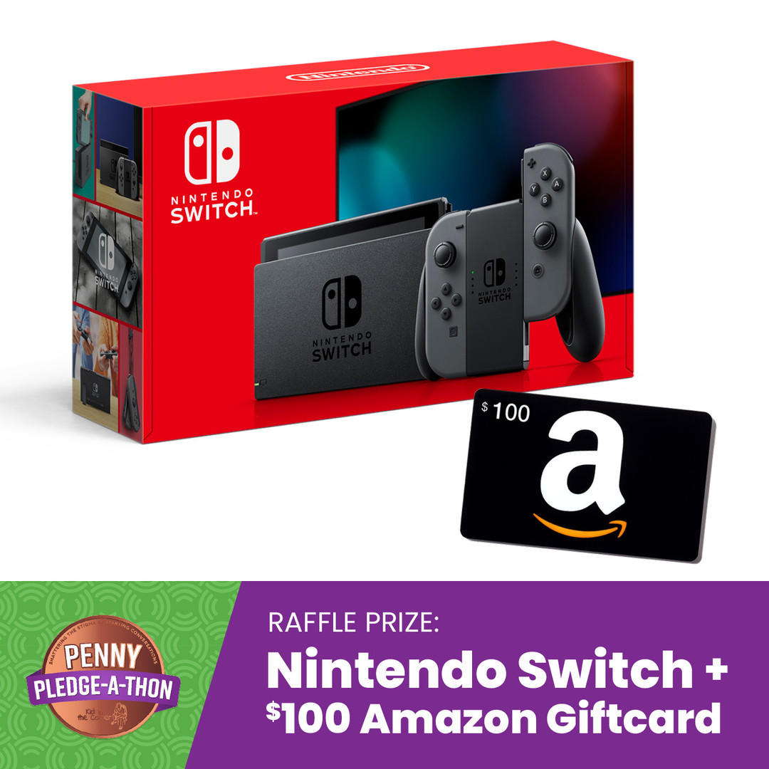 Nintendo Switch + $100 Amazon gift card