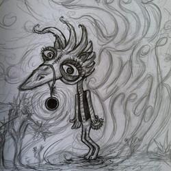 The original Seek, the Freek doodle