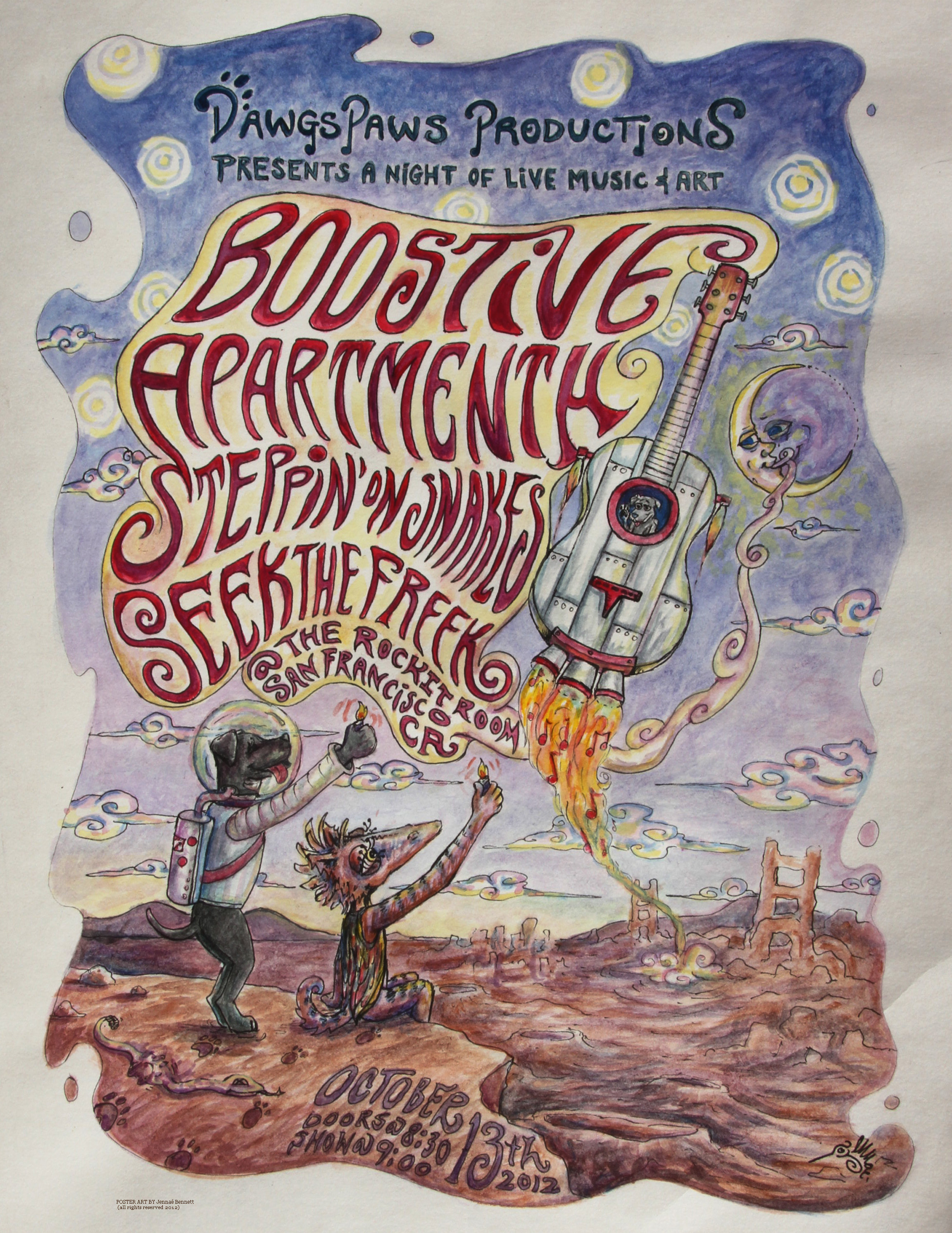 ROCKIT ROOM oct13 SF Poster