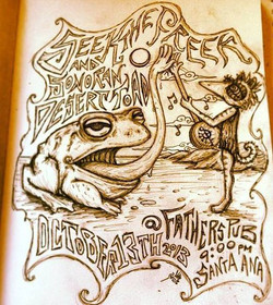 STF and Sonoran Desert Toad Poster