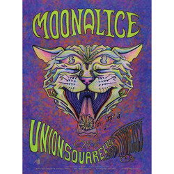 CANNICAT MOONALICE POSTER