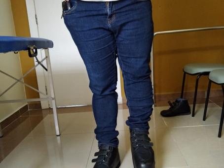 Entrega de calçado ortopédico