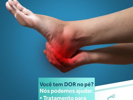 Você tem dor no pé?