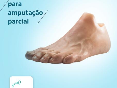 Prótese para amputação parcial de pé