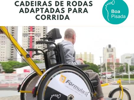 Cadeiras de rodas para corrida