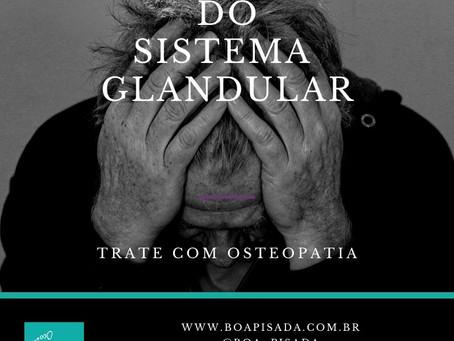 Tratamento de Distúrbios do Sistema Glandular com Osteopatia