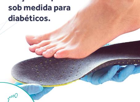 Calçados e palmilhas para diabéticos