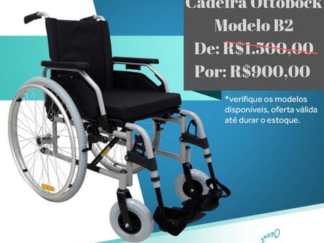 Promoção Cadeira de Rodas Ottobock B2