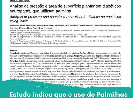 Estudo científico mostra que as Palmilhas Posturais ajudam o pé neuropático