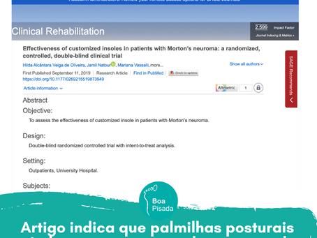 Artigo indica melhora do Neuroma de Morton com Palmilhas Boa Pisada