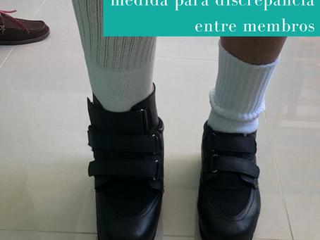 Calçados ortopédicos para discrepância entre membros Boa Pisada